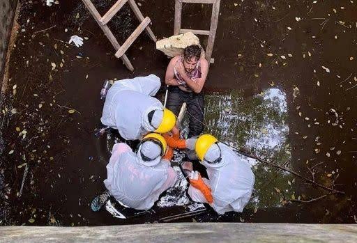 Pria Inggris diselamatkan enam hari setelah jatuh ke dalam sumur di Bali