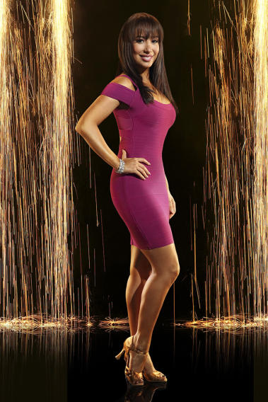 """Dancing with the Stars"" Season 16 CHERYL BURKE"