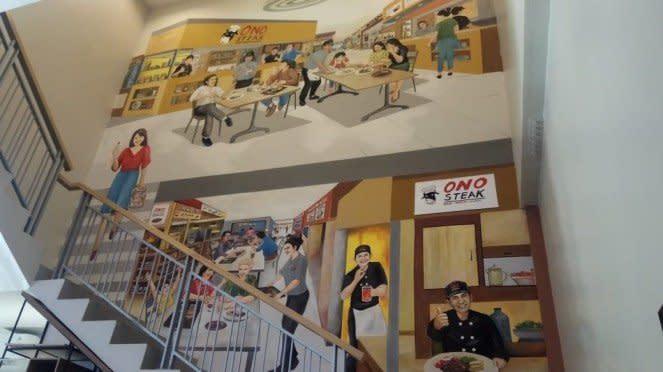 Mural di Ono Steak