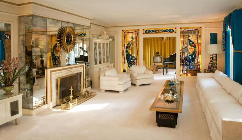 The inside has been lovingly preserved, with fans pouring over every detail as Elvis chose it all himself. Source: Supplied