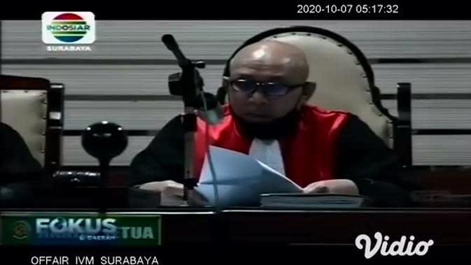 VIDEO: Bupati Sidoarjo Nonaktif Saiful Ilah Divonis 3 Tahun Penjara