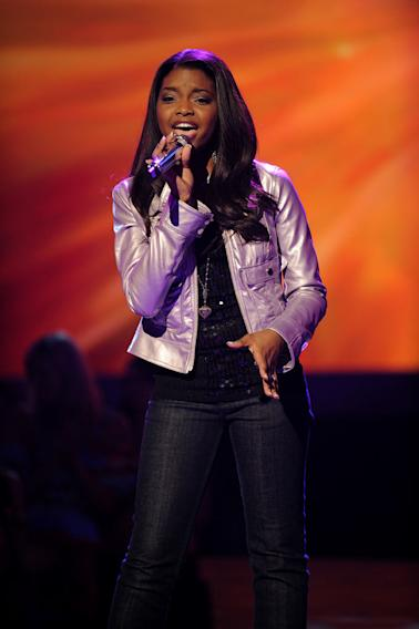 "Jasmine Murray ""Love Song"" by Sara Bareilles on ""American Idol."""