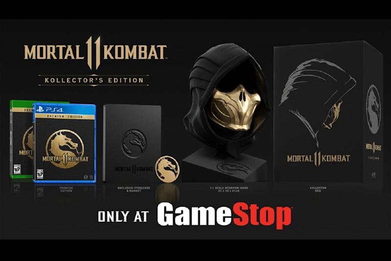 Mortal Kombat 11 Kollector S Edition Comes With A Life Size Scorpion Mask