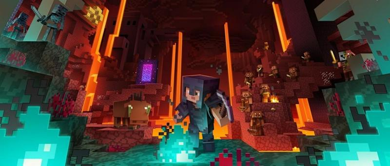 Minecraft Dungeons' first DLC pack, Jungle Awakens, is now available
