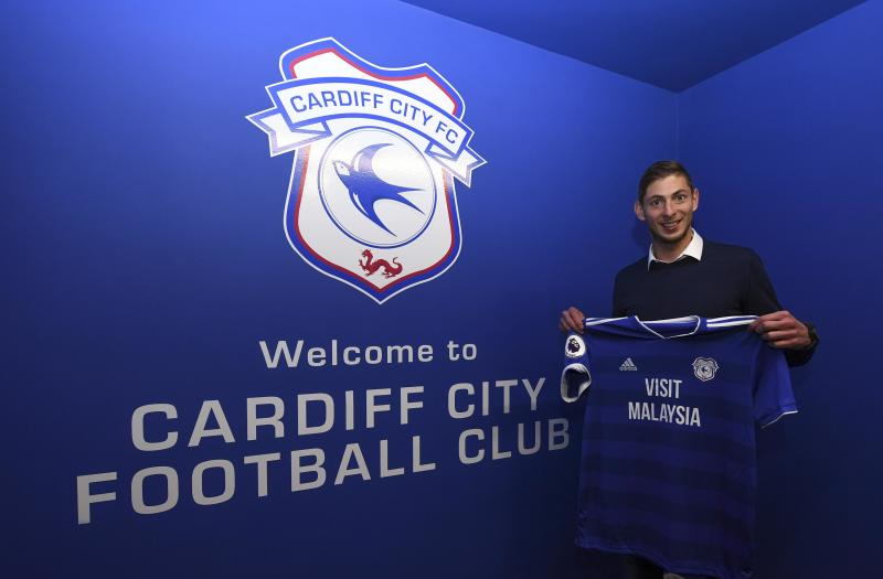 Cardiff City must pay Nantes part of the transfer fee for Emiliano Sala, even though he died before he could play a single game for Cardiff. (Photo by Cardiff City FC/Getty Images)