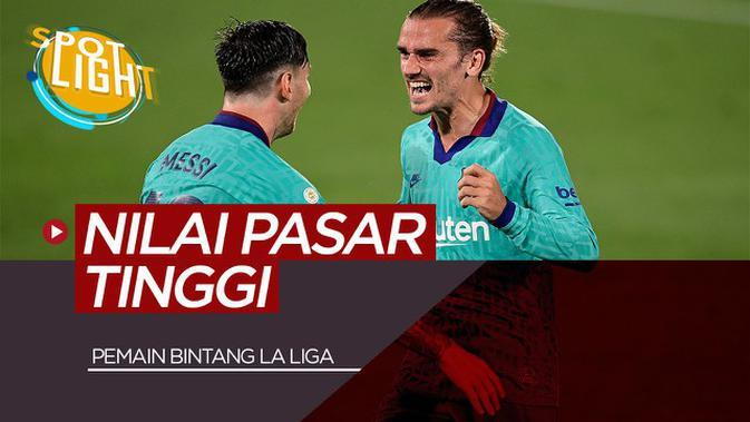 VIDEO: 5 Pemain Bintang di Liga Spanyol dengan Harga Tertinggi Termasuk Lionel Messi
