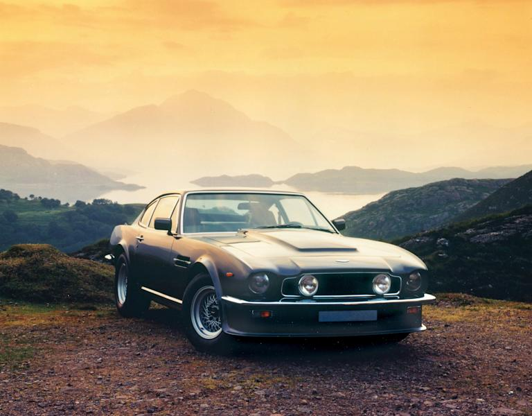 19.V8 Vantage (1977-1989) – Released in 1977, this 170mph car shot to fame as the world's fastest production road car and is universally accepted as both Aston Martin and Britain's first supercar (AMHT)