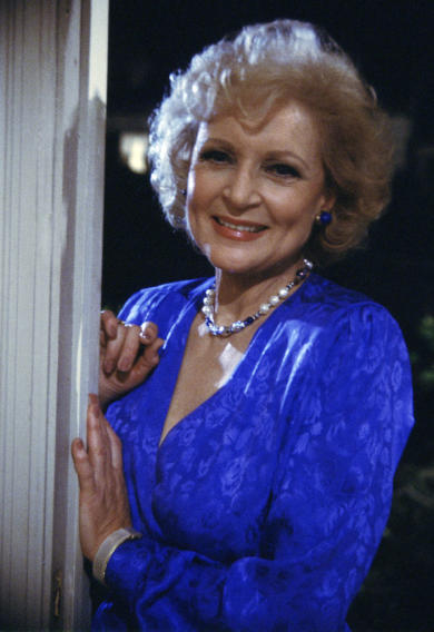 7. Betty White had a guest spot...