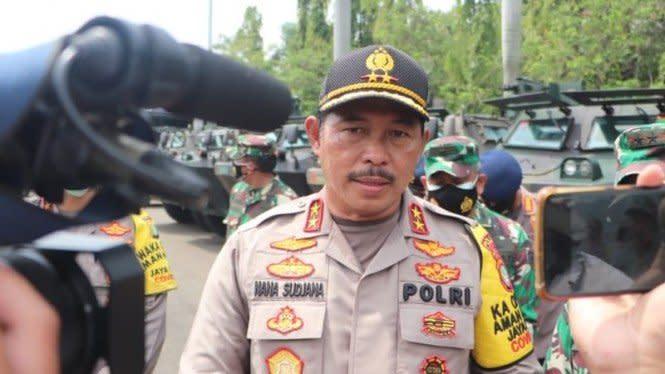 33 Orang Kelompok Anarko Diamankan di Demo Setahun Jokowi-Ma'ruf