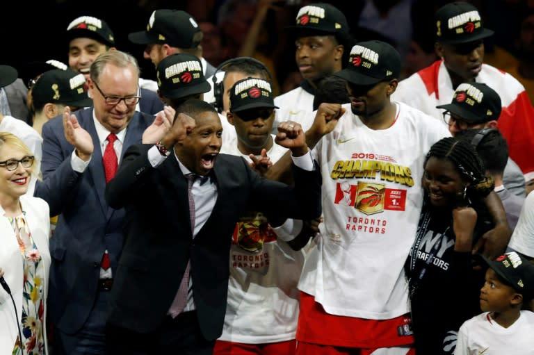 Raptors exec counter sues deputy over NBA Finals shoving match