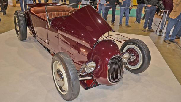 America's Most Beautiful Roadster 2013 award won by 1927 Ford