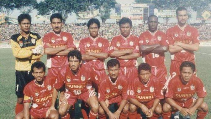 PSM Makassar di Liga Indonesia 1995-1996. (Bola.com/Abdi Satria)