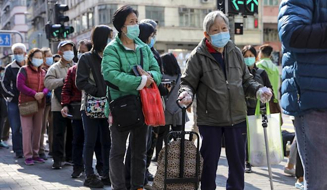 Funds targeted at local mask production schemes came in for criticism before the coronavirus relief package was voted on. Photo: Sam Tsang