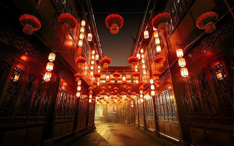 All is quiet: Chinese New Year is almost upon us - pascal kiszon