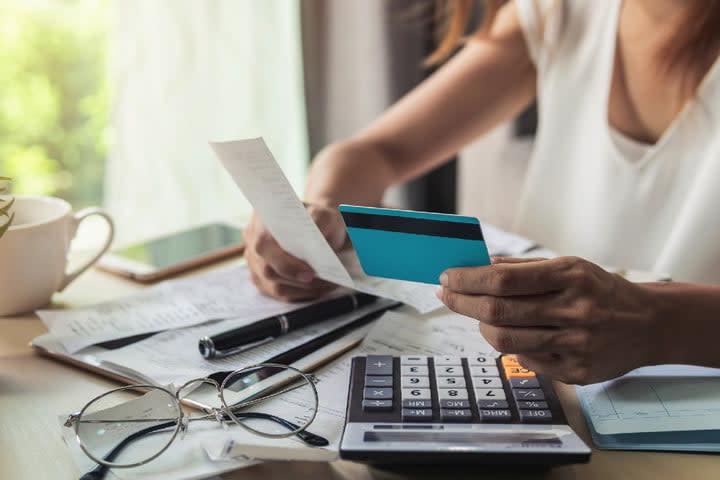 Paying bills 1