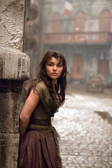 LES MISERABLES, Samantha Barks, 2012.