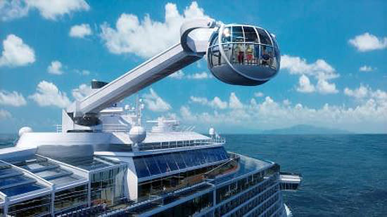 Royal Caribbean cruises will have some fancy new toys