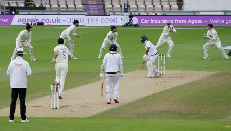 Anderson takes five as England force Pakistan to follow on