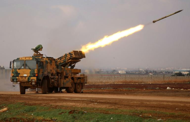 Turkish-backed Syrian rebel fighters are preparing for a counter-offensive against advancing government troops