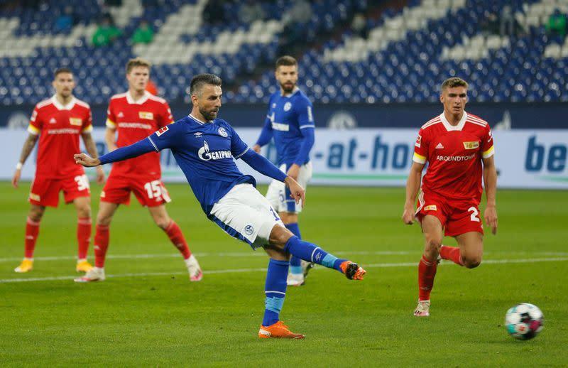 Schalke snap losing run with 1-1 draw against Union Berlin