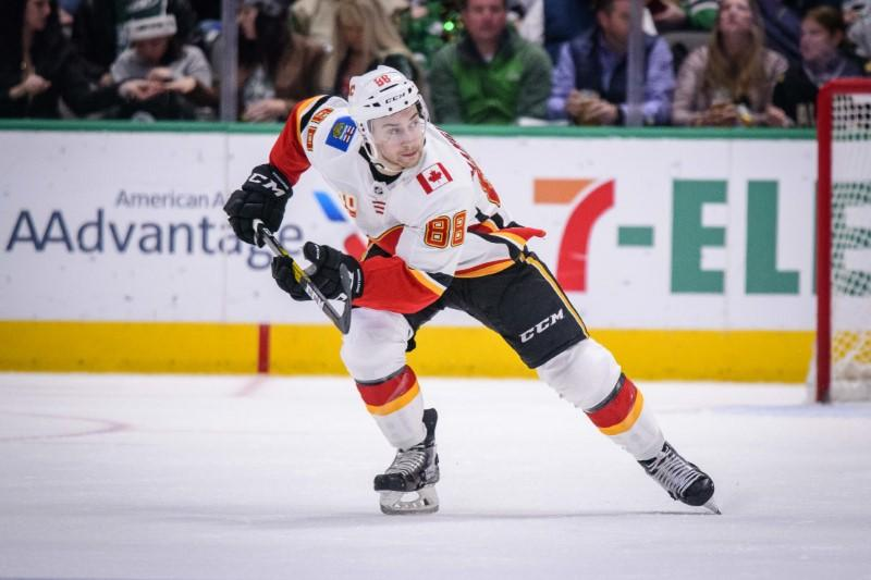 Flames re-sign F Mangiapane for two seasons