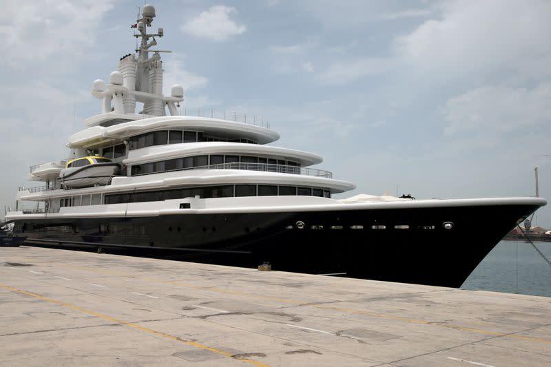 Dubai's highest court rejects superyacht seizure appeal in mammoth divorce battle