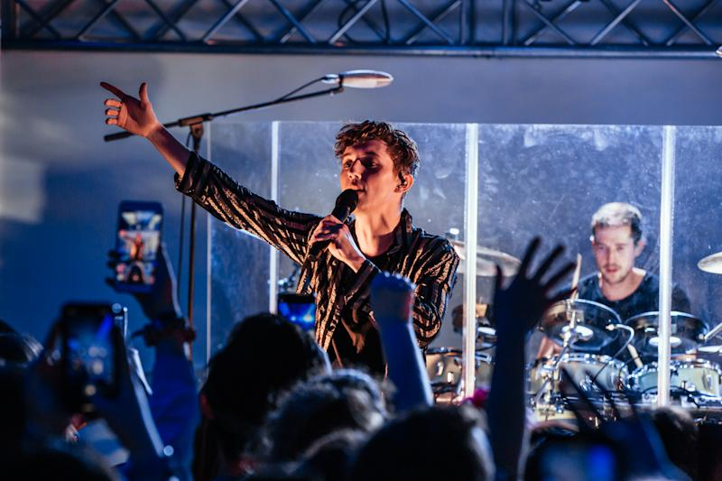 Troye performed at Aloft Perth on Sunday night ahead of his Australia-wide tour. Photo: Supplied