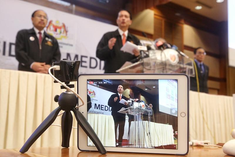 Health director-general Datuk Dr Noor Hisham Abdullah said Malaysia recorded nine new Covid-19 infections today, seven of which were imported cases. — Picture by Choo Choy May