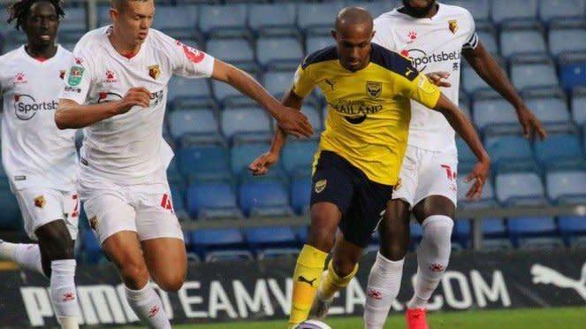 Oxford United kalah adu penalti dari Watford di Piala Liga Inggris