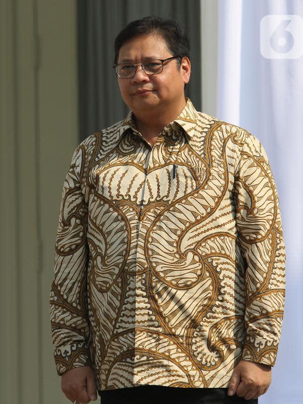 Menteri Koordinator Bidang Perekonomian Airlangga Hartarto (Liputan6.com/Angga Yuniar)