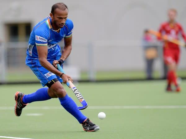 Indian hockey team striker SV Sunil (Photo/Hockey India)