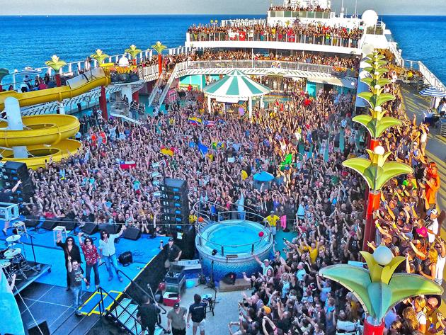 Concert cruises where you can mingle with rock stars