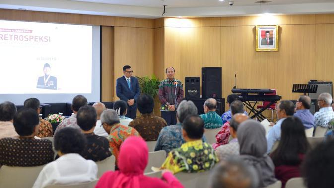 Dubes Soemadi D.M Brotodiningrat dalam peluncuran buku Retrospeksi. Dok: Kemlu
