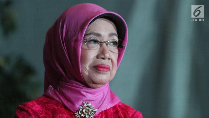 Ibunda Presiden Joko Widodo, Sudjiatmi Notomiharjo. (Liputan6.com/Helmi Fithriansyah)