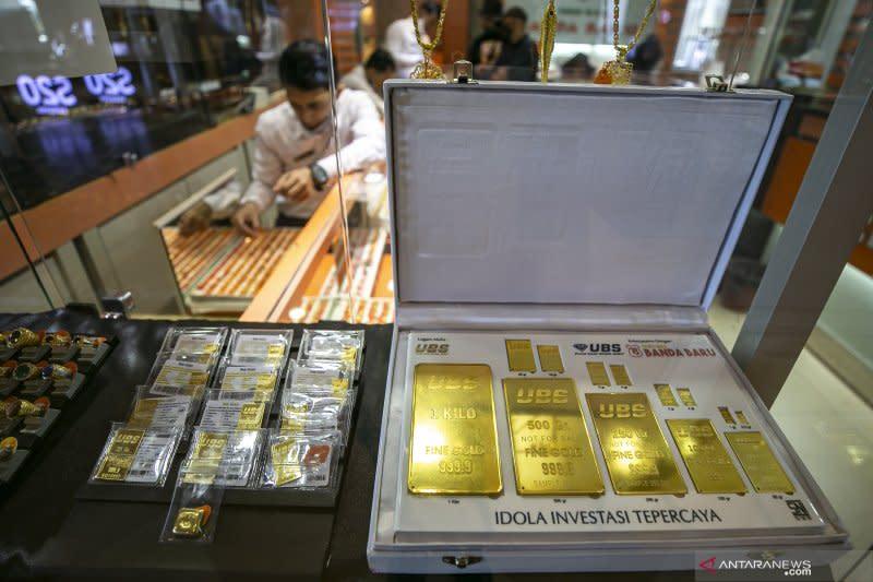 Harga emas melonjak lagi 21,2 dolar dipicu ketegangan AS - China