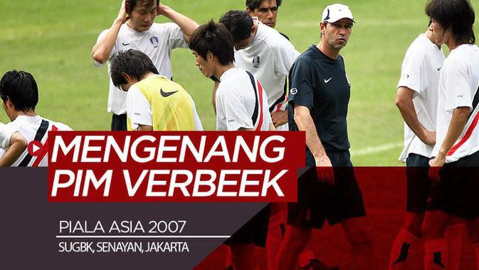 VIDEO: Mengenang Pim Verbeek Saat Piala Asia di SUGBK