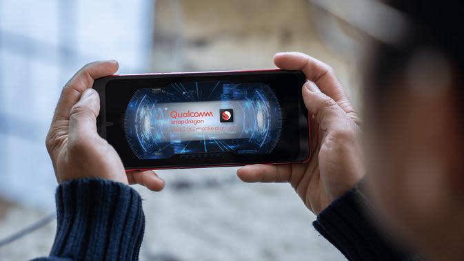 Tampilan Snapdragon 750G yang baru diperkenalkan Qualcomm. (Dok. Qualcomm)