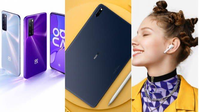 Huawei Luncurkan Nova 7, MatePad dan FreeBuds 3i di Indonesia