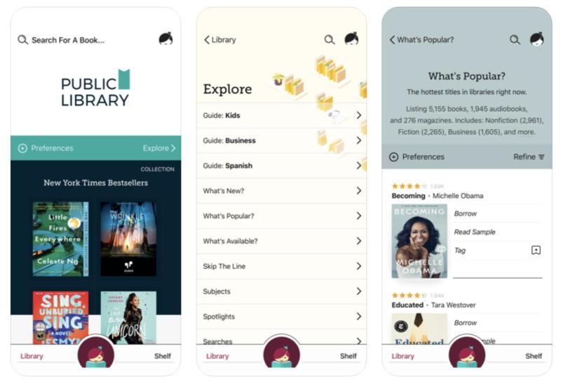 Libby App iOS