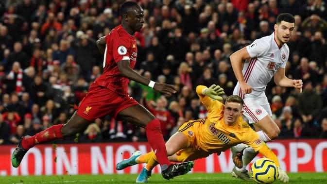 Henderson sejatinya adalah produk binaan akademi Manchester United yang sedang dipinjamkan ke Sheffield. (AFP/Paul Ellis)