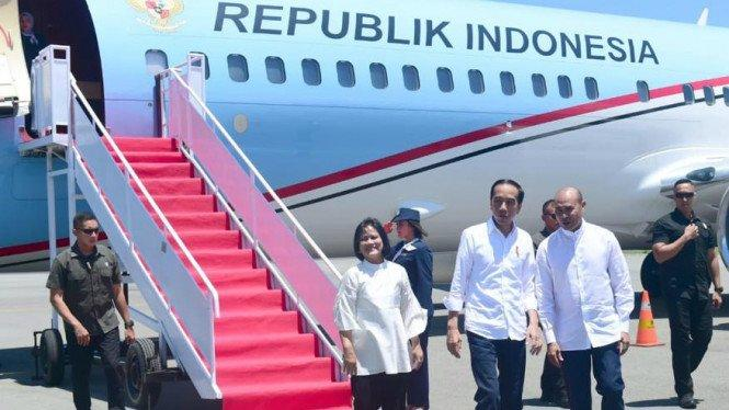 Hari Ini, Jokowi Tinjau Infrastruktur di Labuan Bajo