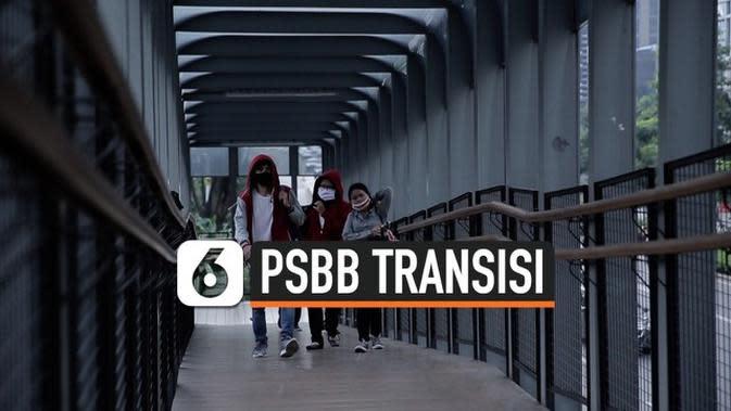 VIDEO: Kondisi Hari Pertama PSBB Transisi Jakarta
