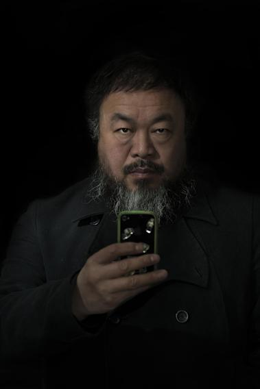 In this photo provided on Friday Feb. 15, 2013 by World Press Photo, the 2nd prize Prize People – Staged Portraits Single by Stefen Chow, Malaysia, for Smithsonian magazine, shows a portrait of Ai Wei Wei, Beijing, China, Feb. 6, 2012. (AP Photo/Stefen Chow, Smithsonian magazine)