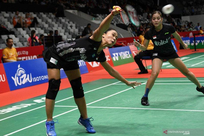 Menangi 'perang saudara', Ketut/Tania ke babak dua Indonesia Masters