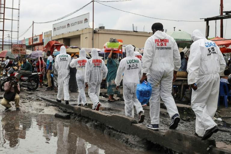 Awareness campaigners have faced hostility in Kinshasa