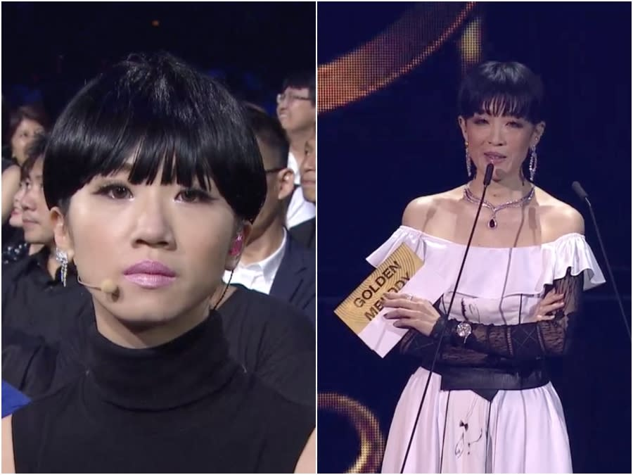 金曲獎/陳珊妮被Lulu模仿 尷尬13秒嗆台下:對你們太失望了!