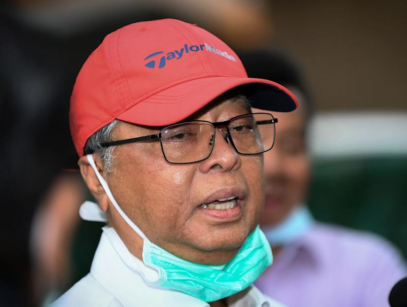 Defence Minister Datuk Seri Ismail Sabri Yaakob says Putrajaya has not decided on any further extension to the ongoing movement control order. — Bernama pic