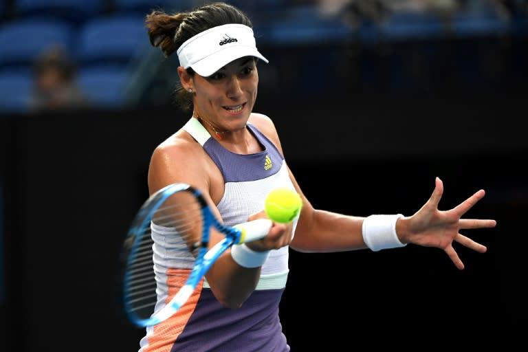 Spain's Garbine Muguruza beat Elina Svitolina