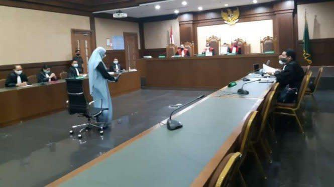 Pinangki Tulis Surat Maaf ke Jaksa Agung dan Mantan Ketua MA