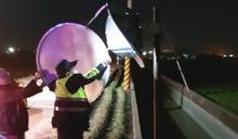 寒流來襲狂風吹 北港警為民服務不停歇